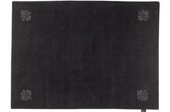 Luxor Style Teppich Queen anthrazit 170 x 240 cm