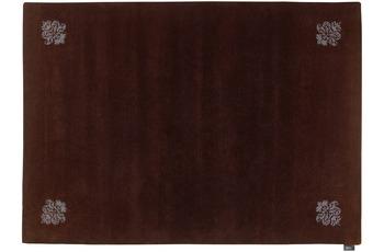 Luxor Style Teppich Queen braun