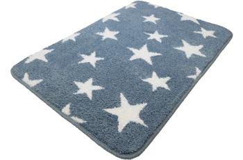 Meusch Badteppich Stars, Stahlblau