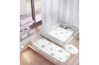 Meusch Duscheinlage Stars, Silbergrau