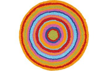 Meusch Badteppich Mandala Multicolor 100 cm rund