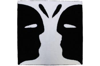 NICOL Badematte Art Faice schwarz 110 cm x 110 cm