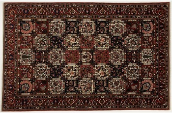 Oriental Collection Bakhtiar-Teppich, handgeknüpft, reine Wolle, 207 x 320 cm