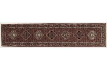 Oriental Collection Orient Teppich, Bidjar Teppich, handgeknüpft, 86 x 397 cm
