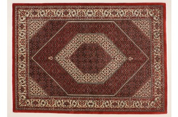 Oriental Collection Bidjar m.Seide rot 76080, Perser-Teppich