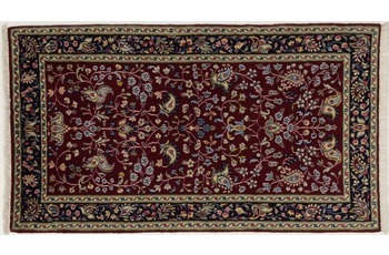 Oriental Collection Kerman Teppich, Perser, reine Wolle, 70 x 127 cm