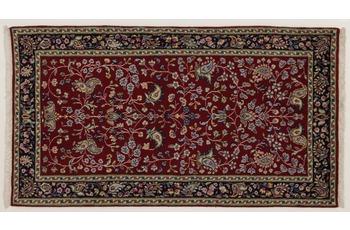 Oriental Collection Perser Teppich, Kerman, reine Wolle, 70 x 130 cm