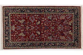 Oriental Collection Kerman Teppich, handgeknüpft, reine Schurwolle, 70 x 126 cm