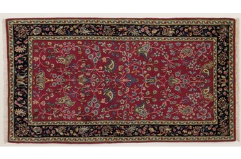 Oriental Collection Kerman Teppich, Perser, handgeknüpft, 70 x 127 cm