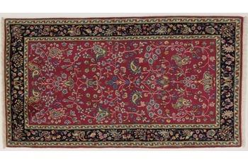 Oriental Collection Kerman Teppich, handgeknüpft, reine Schurwolle, 70 x 128 cm