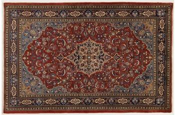 Oriental Collection Teppich, Sarough, Perser-Teppich, handgeknüpft, reine Schurwolle, florale Ornamentik, 137 x 207 cm