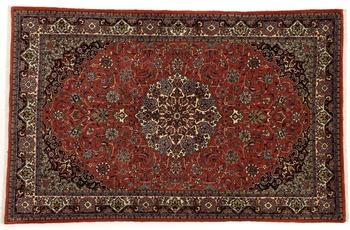Oriental Collection Teppich, Sarough, Perser-Teppich, handgeknüpft, reine Schurwolle, florale Ornamentik, 128 x 202 cm