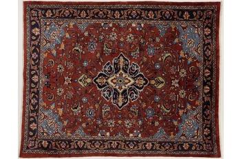 Oriental Collection Teppich, Sarough, Perser-Teppich, handgeknüpft, reine Schurwolle, florale Ornamentik, 160 x 202 cm