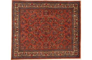 Oriental Collection Teppich, Sarough, Perser-Teppich, handgekn�pft, reine Schurwolle, florale Ornamentik, 220 x 258 cm