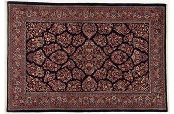 Oriental Collection Teppich, Sarough, Perser-Teppich, handgeknüpft, reine Schurwolle, florale Ornamentik, 160 x 235 cm