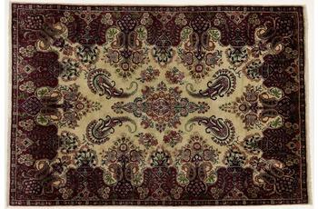 Oriental Collection Teppich, Sarough, Perser-Teppich, handgekn�pft, reine Schurwolle, florale Ornamentik, 130 x 192 cm