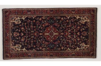 Oriental Collection Teppich, Sarough, Perser-Teppich, handgekn�pft, reine Schurwolle, florale Ornamentik, 67 x 125 cm