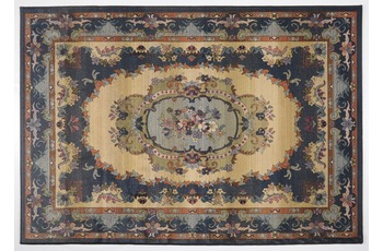 Oriental Collection Teppich Gabiro, 221, blue 120 cm rund