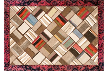 Orig. pers. Patchwork 7364 rot