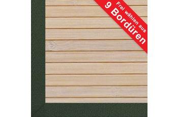 Kelii , Bambusteppich, DESIGNER Powder, 1,5 cm Stabbreite, rutschhemmender R�cken