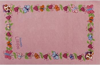 Prinzessin Lillifee Kinder-Teppich Blumenkranz Öko-Tex zertifiziert