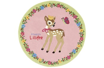 Prinzessin Lillifee Rehkitz Teppich 130 x 130 cm rund