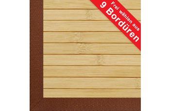 Kelii , Bambus Teppich, DESIGNER Pure, 1,5 cm Stabbreite, rutschhemmender R�cken