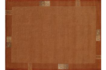 Rama 322 Nepalteppich terra 200 x 200 cm