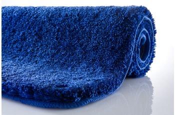 Kleine Wolke Badteppich, Relax, Atlantikblau, rutschhemmender Rücken, Öko-Tex zertifiziert