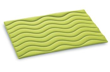 Rhomtuft Badmatte WAVE, limone 90 cm x 60 cm
