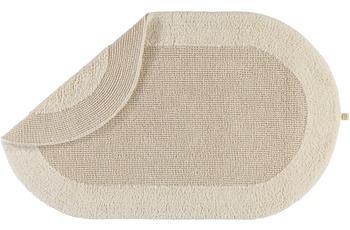 Rhomtuft Badteppich EXQUISIT  beige 50 x  75 cm
