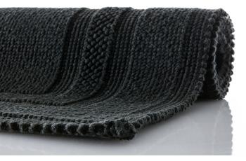 Rhomtuft Badteppich GRACE schwarz