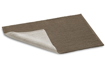 Rhomtuft Double taupe /  stone 60 cm x 60 cm