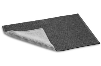 Rhomtuft Double zinn /  kiesel 60 cm x 60 cm