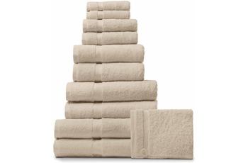 Rhomtuft Handtuch/ Duschtuch PRINCESS, beige