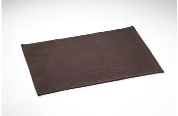 Rhomtuft Plain schoko 70 cm x 120 cm