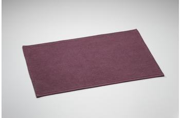 Rhomtuft , Badematte, Plain, viola, Florh�he 10 mm. aus reiner Baumwolle