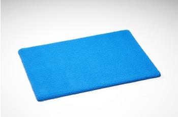 Rhomtuft Badematte Square jeans 55 cm x 60 cm WC-Vorleger mit Ausschnitt