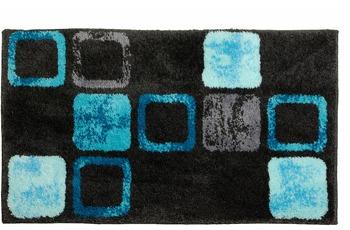 Schöner Wohnen Badteppich Mauritius Des. 004 Col. 020 Box blau