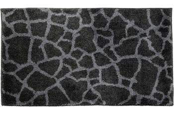 Schöner Wohnen Badteppich Mauritius Des. 005 Col. 040 Steine anthrazit