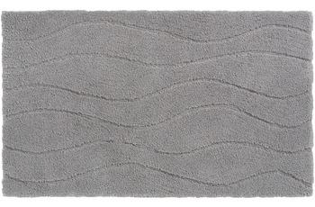 Schöner Wohnen Badteppich, Santorin, D. 002 C. 047 Welle hellgrau