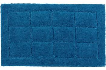 Schöner Wohnen Badteppich, Santorin, D. 003 C. 020 Kacheln blau