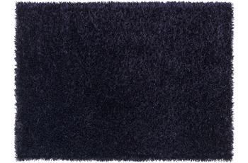 Schöner Wohnen Hochflor-Teppich, Feeling, blau lila, 55 mm Florhöhe