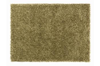Schöner Wohnen Hochflor-Teppich, Feeling, grün, 55 mm Florhöhe