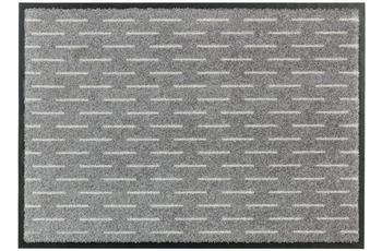 Schöner Wohnen Fussmatte Broadway Striche grau