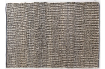 Tom Tailor Smooth Comfort - braid natural blue 140 x 200 cm
