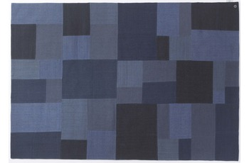 Tom Tailor Smooth Comfort - Patch Denim blue 140 x 200 cm