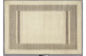 Tadj, Gabbeh Teppich, 234, natur, handgekn�pft mit argentinischer Schurwolle