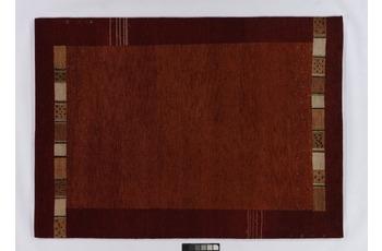 Tadj, Gabbeh Teppich, 240 rost, handgekn�pft mit argentinischer Schurwolle