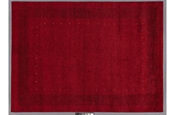 Tadj, Gabbeh Teppich, 2900 rot, handgekn�pft mit argentinischer Schurwolle